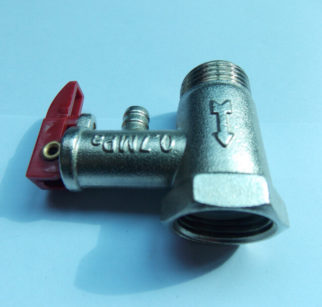 Relief valve, relief valve, relief valve, pressure reducing valve of electric water heater