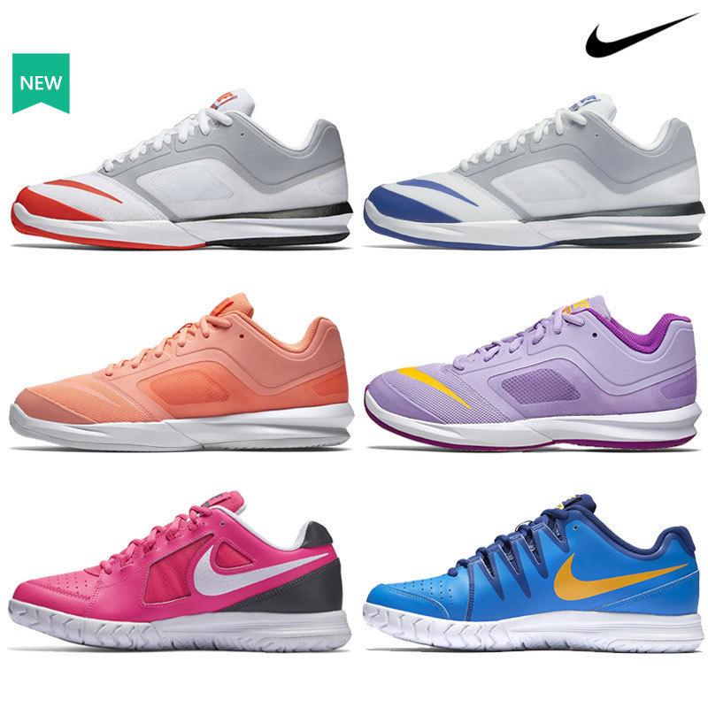 正品Nike耐克16年新款男女网球鞋轻便耐磨纳达尔简版专业运动鞋
