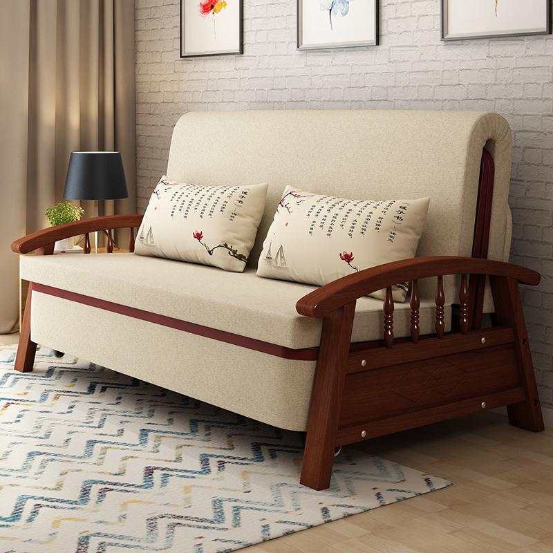 καναπέ κρεβάτι ύφασμα να μπορούν να πλένονται διπλό 1,2 m 1,5 m πολυλειτουργική πτυσσόμενο μικρό σαλόνι
