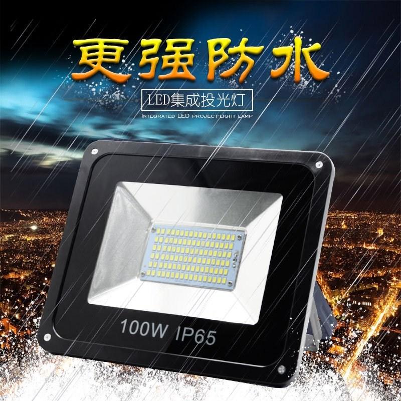 100LED sterke aandacht - installaties die lamp fabriek een dakraam.