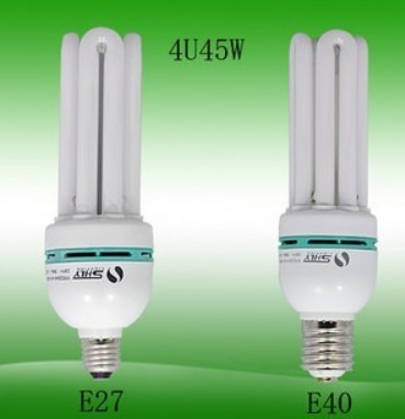 Shanghai Luyuan high power 4U35/45W/55/65/855U105/125WE27 energy-saving bulb