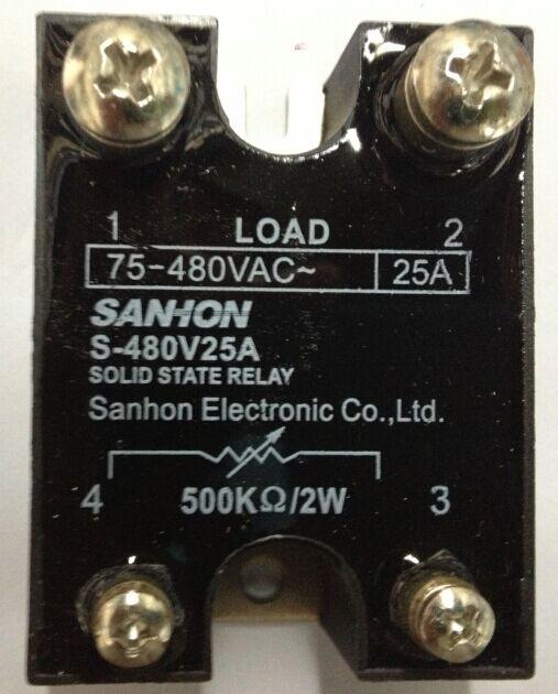 Tre carte Allo Stato solido, il Regolatore di pressione S-480V25A Macro