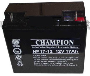 The champion champion NP17-12UPS battery 12V17AH special power battery warranty for one year