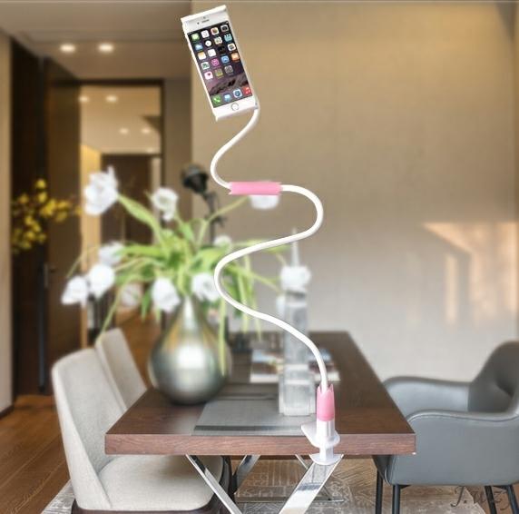 кронштейн крепления рамы увеличена телефон в прямом эфире двойного назначения пряжка типа кровати клип pad поддержки двух мультфильм портативный
