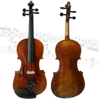The high-grade natural patterns of violin playing grading hand-made dry years