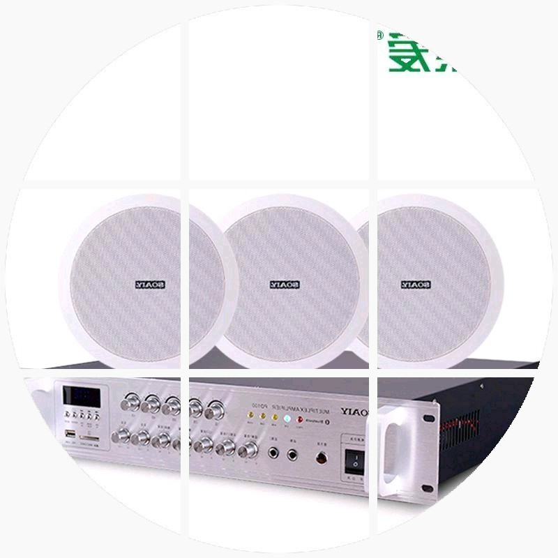 Sony Ericsson XD1562 coaxial trumpet outfit ceiling ceiling audio constant pressure amplifier background music box