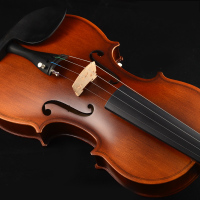 White electronic violin, luminous violin, pure handmade solid wood, solid wood violin