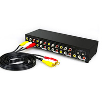Distributor, eight point converter, multi host switcher, three frequency divider, branch video frequency divider, screen splitter, high definition