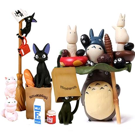 Электронной почте студии Ghibli Хаяо Миядзаки шиншилл Jenga стека/укладки игрушки фигурки Детские подарки