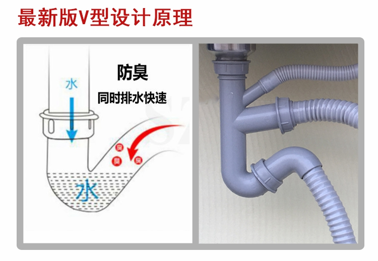 tank, nekaj delov v bazen pod loncem cevi iz nerjavnega jekla. 洗菜 ime vode bazena vode enotnega dvojni kuhinjo.