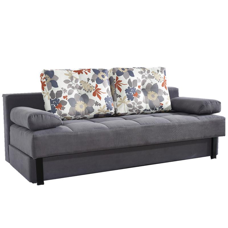 かばんは小さい部屋のソファベッドとしても折り畳み式に収納できます。