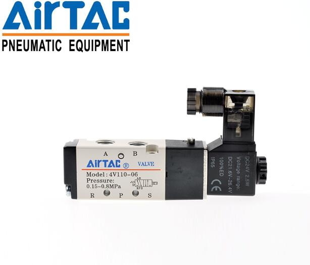 4V110-06 original AIRTAC Yadeke genuine reversing solenoid valve two 4V110-M5 five single control