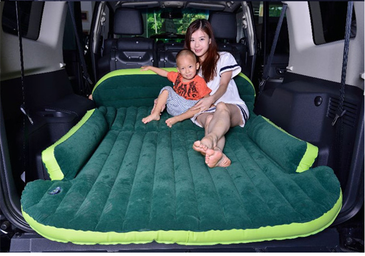 SUV special Volkswagen Tiguan L transit vehicle trunk ang inflatable mattress folding bed car travel car bed thickness