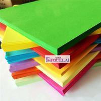 Copia del cartone di 100 fogli di Carta Origami di materiale di Colore DELLA CARTA da Stampa di carte dei Bambini di Carta Origami