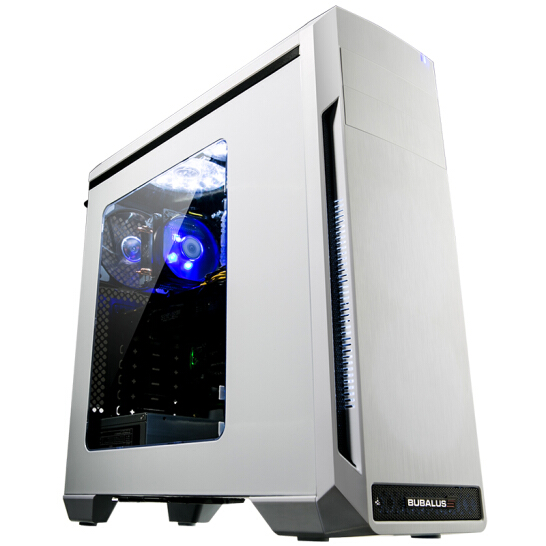 Buffalo (BUBALUS) Oder in eine Weiße Tower (unterstützung der atx motherboard / zwei wassergekühlte reihen