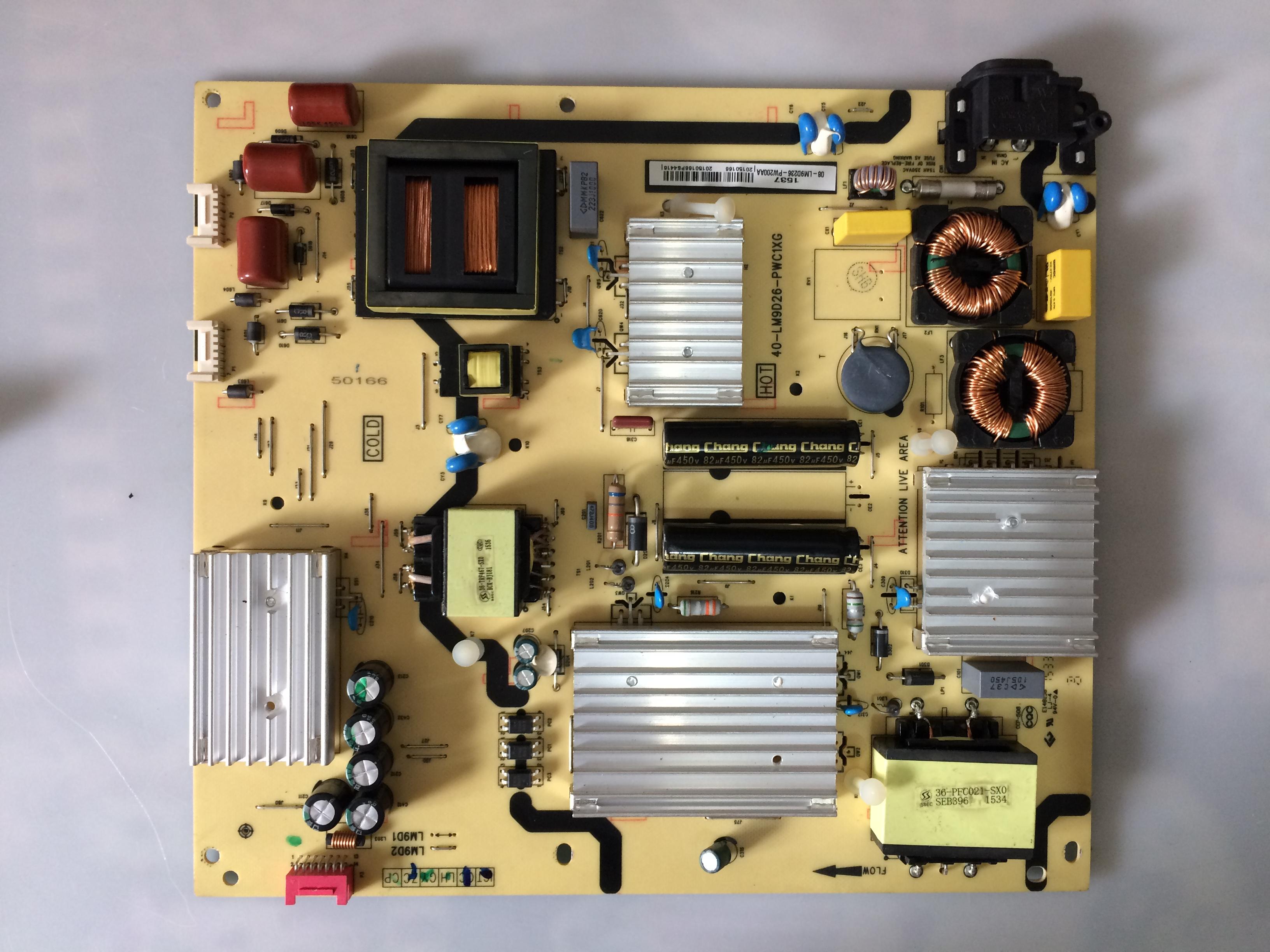 L55C1-UD hosszabbító 40-LM9D26-PWC1XG tcl lcd tv