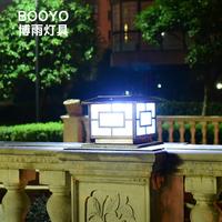 Solar lamp, courtyard landscape, wall lamp, garden, courtyard landscape, super high LED waterproof lighting, stigma, street lamp wall