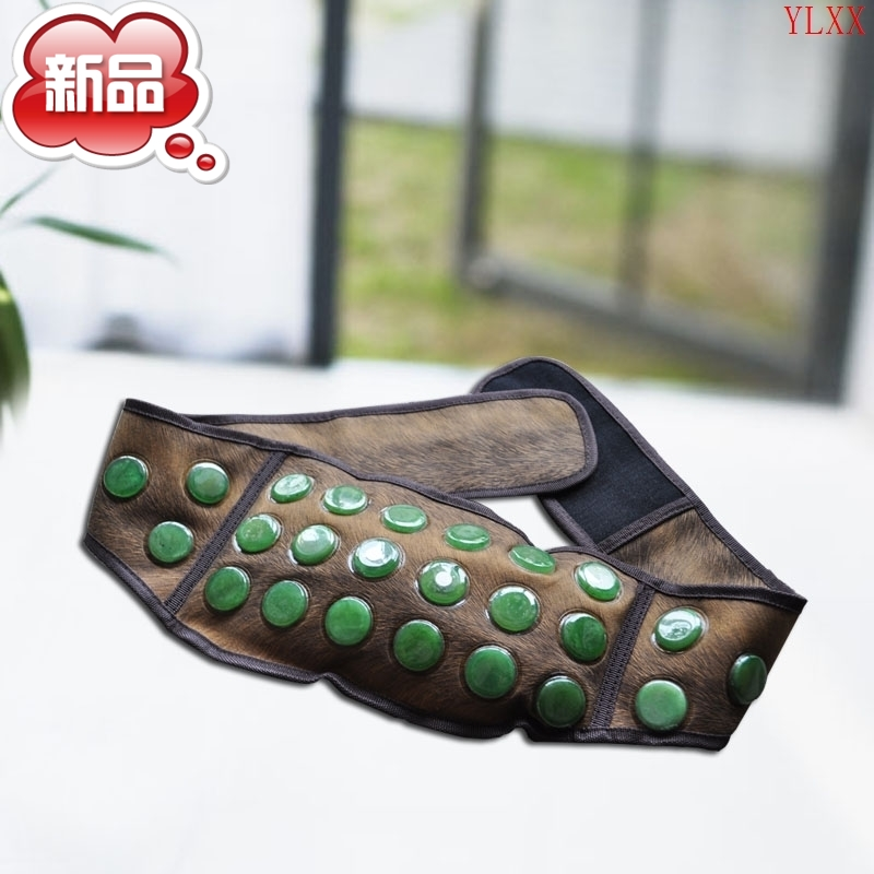 Yusheng edge electric heating jade magnet belt waist belt warm warm stomach warm back heating a house