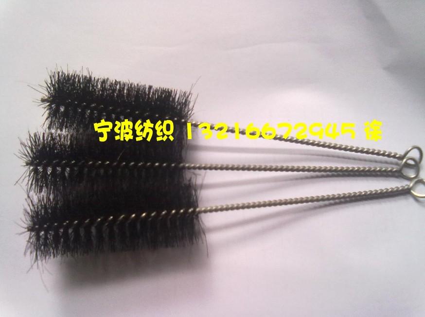 Small black pig brush industrial brush, small bottle brush, die casting brush pipe brush, textile brush diameter 3 cm