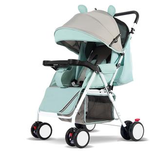 婴儿推车可坐可躺超轻便折叠避震伞车0-3岁儿童小孩BB手推车夏季