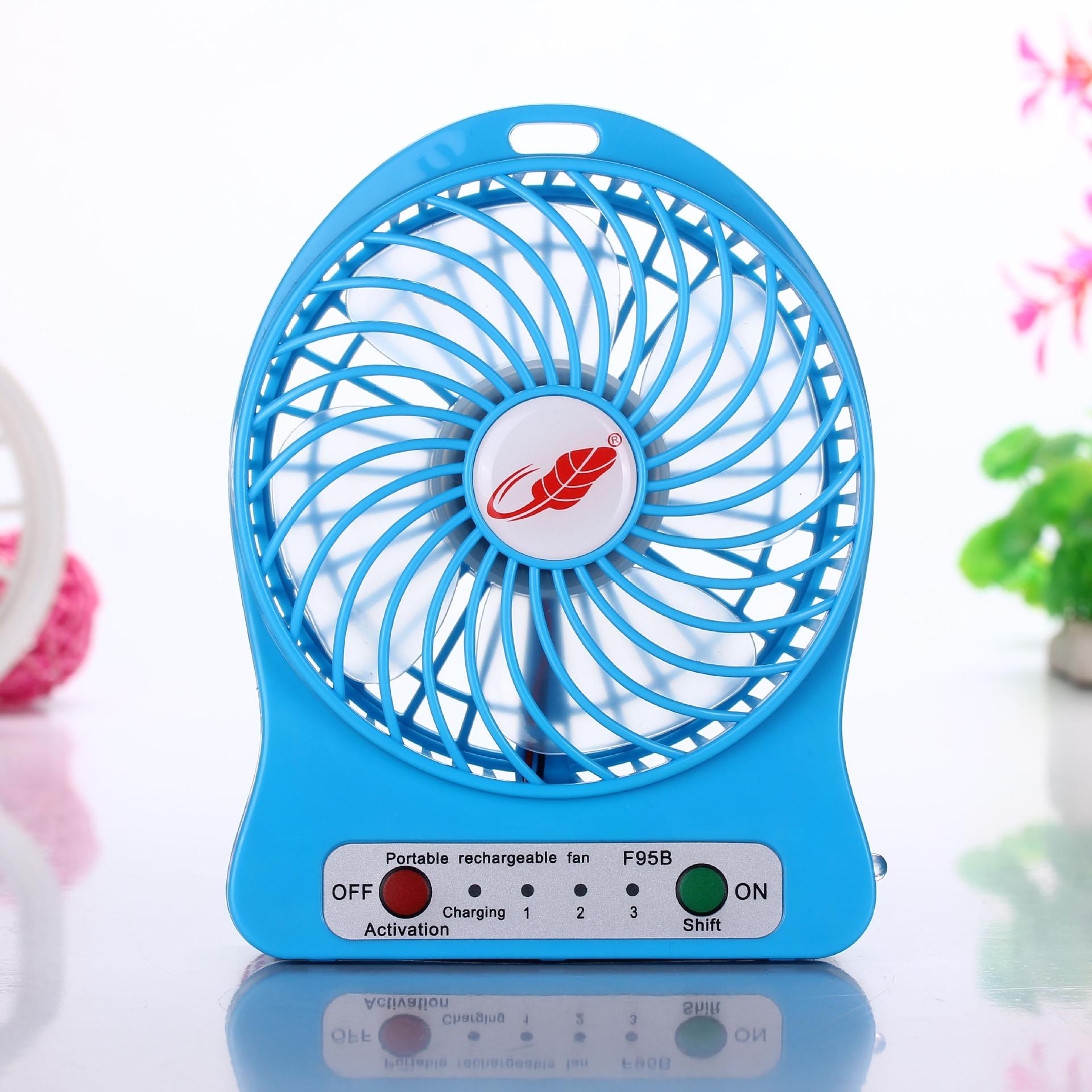 Gongtian ventilador USB Mini - ventilador recarregável móvel portátil Mini ventilador força Alunos