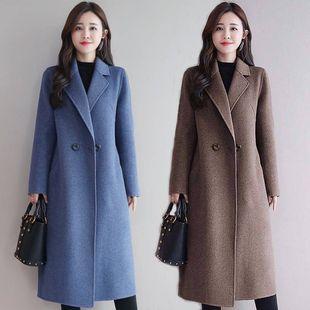 【反季清仓】毛呢大衣女中长款2019春秋新款减龄时尚冬季呢子外套