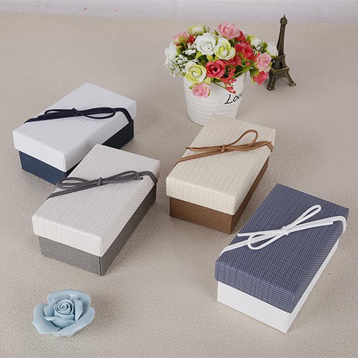 Semplice confezione regalo una scatola rettangolare di Tromba confezione studenti accendino confezione squisita rossetto scatolone