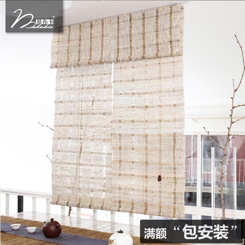dl - kártyát. 夏布 le kézzel ramine - t valódi tea egyedi függönyt ponyva 大格 függöny.