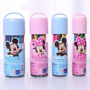 水彩笔套装幼儿园DB可水洗儿童水彩笔24 36色画画笔彩色笔