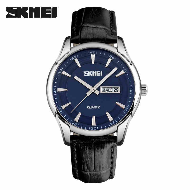 La maquinaria de los relojes del auténtico Rossini - la personalidad de los hombres de negocios simple impermeable doble calendario Boom retro