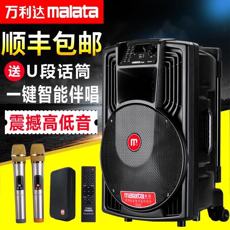 Der Square dance sound malata hochleistungs - J15 zentimeter das Handy MIT drahtlosen mikrofon J12 Outdoor - sound.