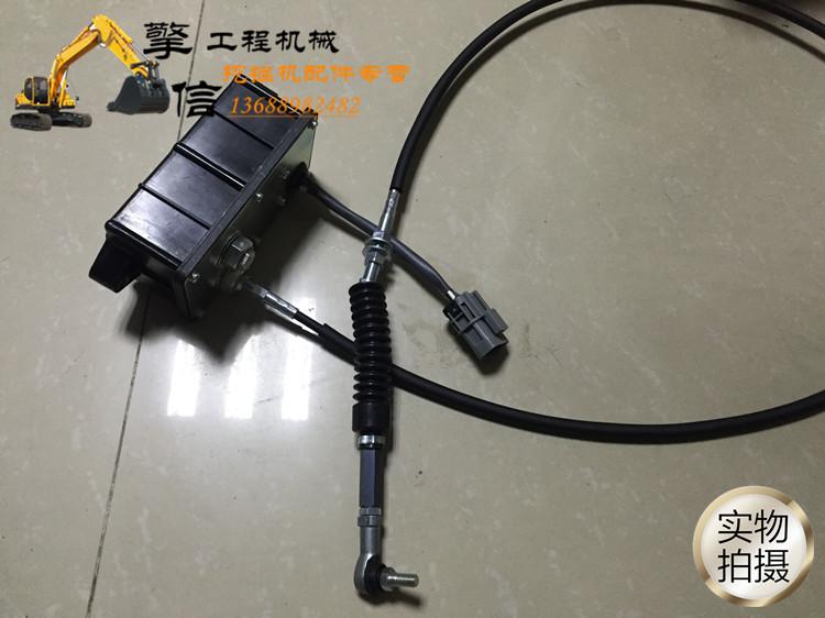 Excavadora de acelerador de electrones el caudal de la bomba motor motor acelerador electrónico controlador universal de la excavadora
