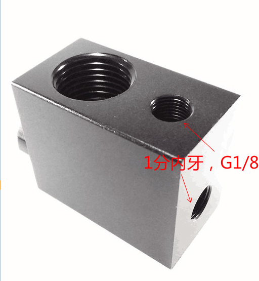 The valve quick exhaust valve QE-04 switch manual exhaust dust free mechanical dust blowing with small holes