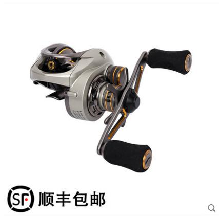 shunfeng post omfatter fiskeri hus CK-150 højre hånd road 亚轮 langt ud - hjul magnetisk centrifugal - dobbelt bremse hjul