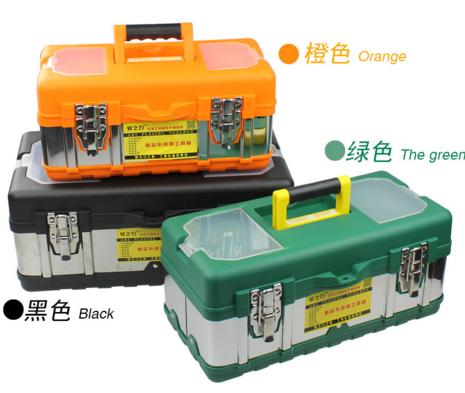 La cassetta degli attrezzi per la Lavorazione DEL LEGNO, rivestiti di strumenti Hardware elettrico domestico Multi - funzione di manutenzione Manuale di Set di strumenti