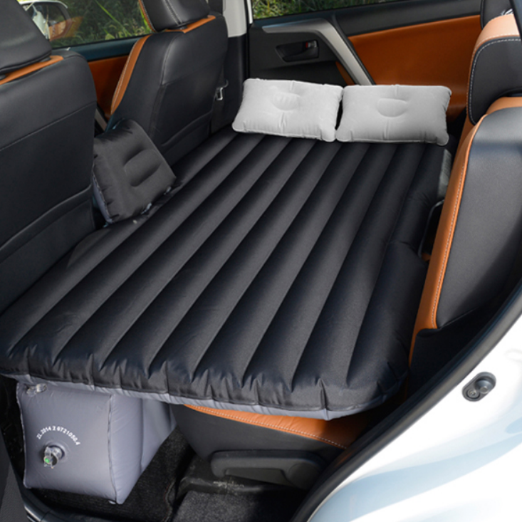 Vehicle inflatable bed cars and SUV split car automotive dual bed sleeping bag bag GM