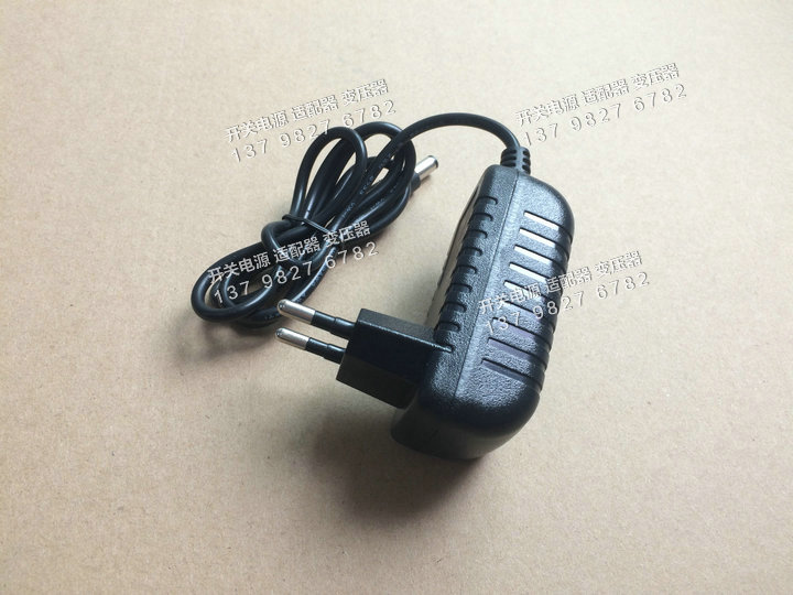 LED switching power adapter 5V2A European plug in wall power supply security transformer F2