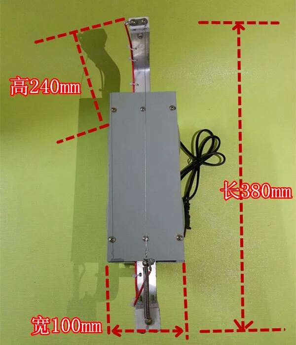 เครื่องทําความร้อนไฟฟ้า / ตัดสติ๊กเกอร์เครื่องตัดผ้าเครื่องตัดเทป , ริบบิ้น , สูง / เครื่องตัดโฟม 220V150W
