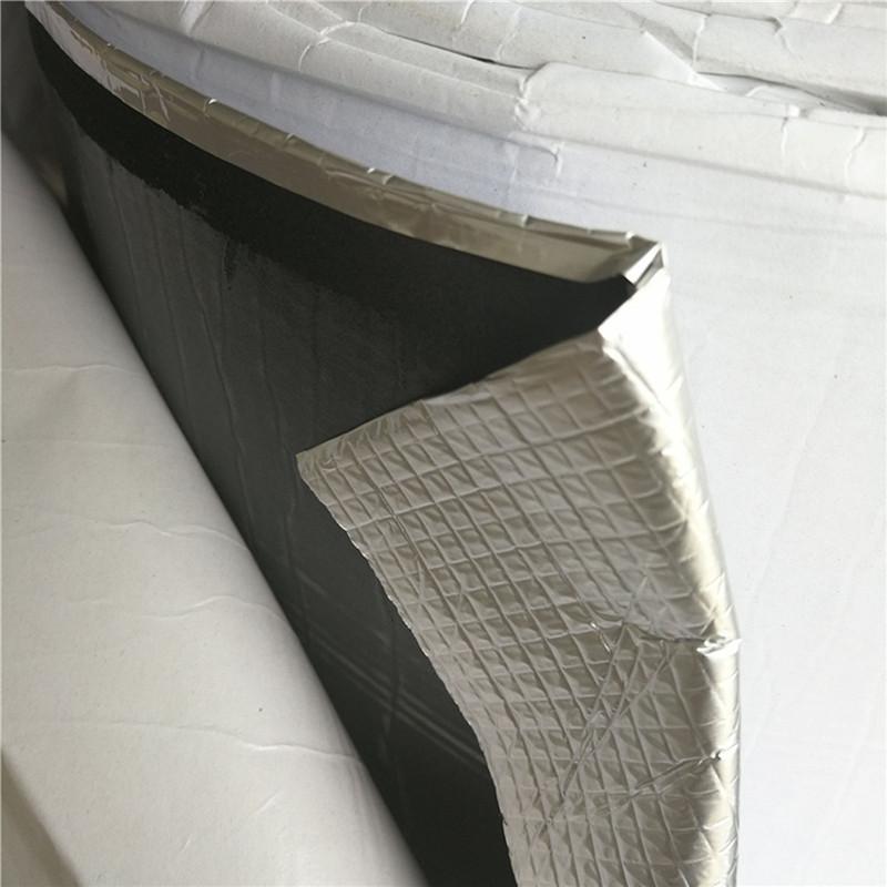 - na dachu. dach budynku z bawełny, folii aluminiowej folii aluminiowej osłonie izolacji cieplnej - film z bawełny, wodoodporny.