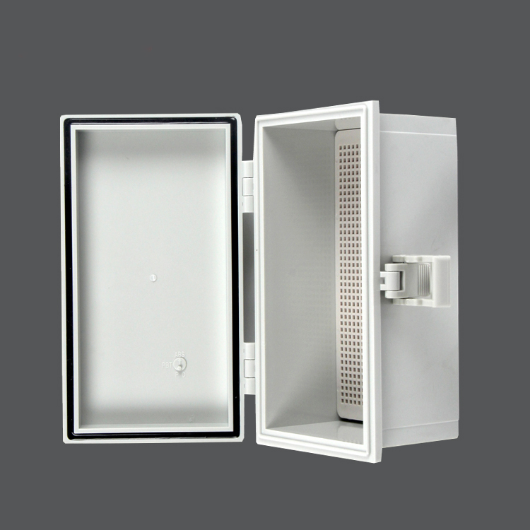 Plastic hinge waterproof box 110*200*90mm outdoor instrument cable control box power switch protection box