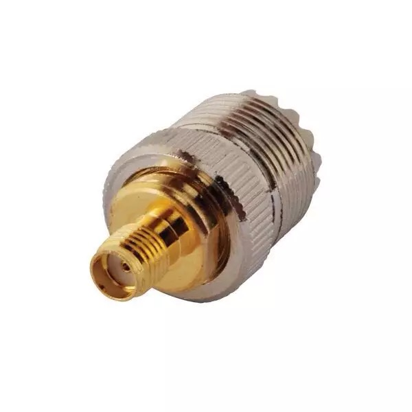 SMAK / UHFK adaptador de cobre de alta frecuencia de radio UHF adaptador SMA hembra a hembra