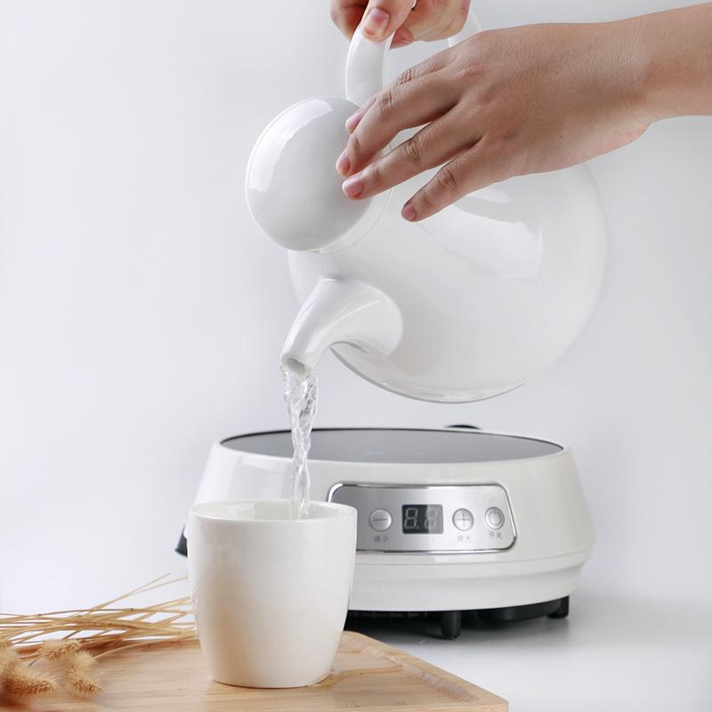 Todo era agua hirviendo el agua de porcelana cerámica termo hervidor eléctrico termo eléctrico teteras hervidor de agua de uso doméstico