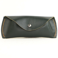 Zero wallet Wuhu dust leather glasses box leather sunglasses glasses bag handmade creative gift package