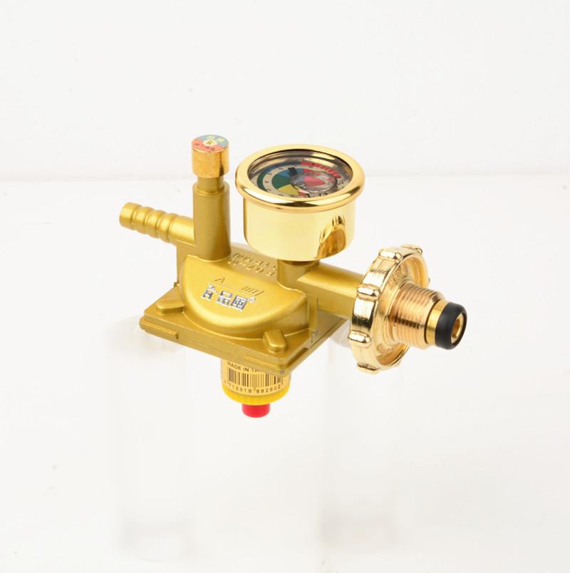 O tanque de gás para USO doméstico, produtos de segurança conjunto de interruptor Da válvula à Prova de explosões de gás válvula de Corte automática válvula redutora de pressão de gás liquefeito