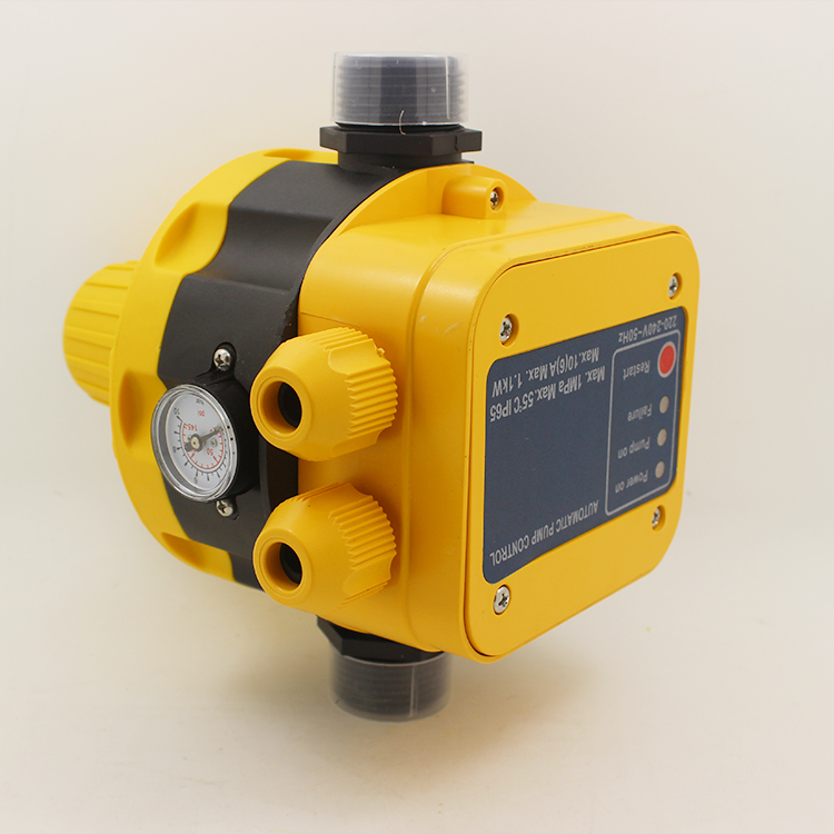 Automatic water pump pressure controller for household booster pump pressure switch hot water special electronic flow switch