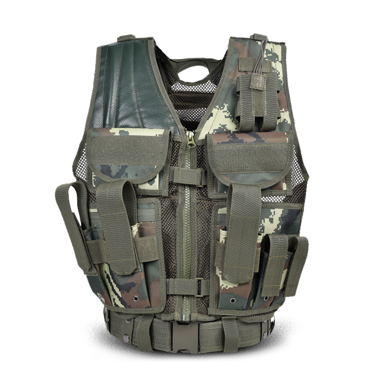 Tactical Vest group purchase customized multi-functional special soldiers operational equipment intercalation steel plate tactical vest belt belt