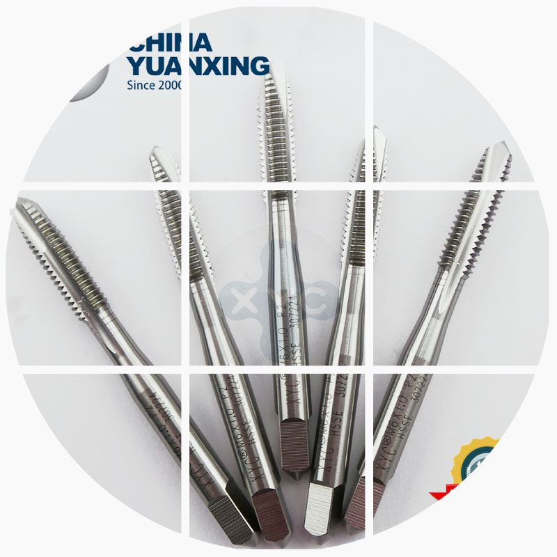 Apex wire tapping cutting tap machine with metric thread M1-M6 (JIS) POT via lower chip