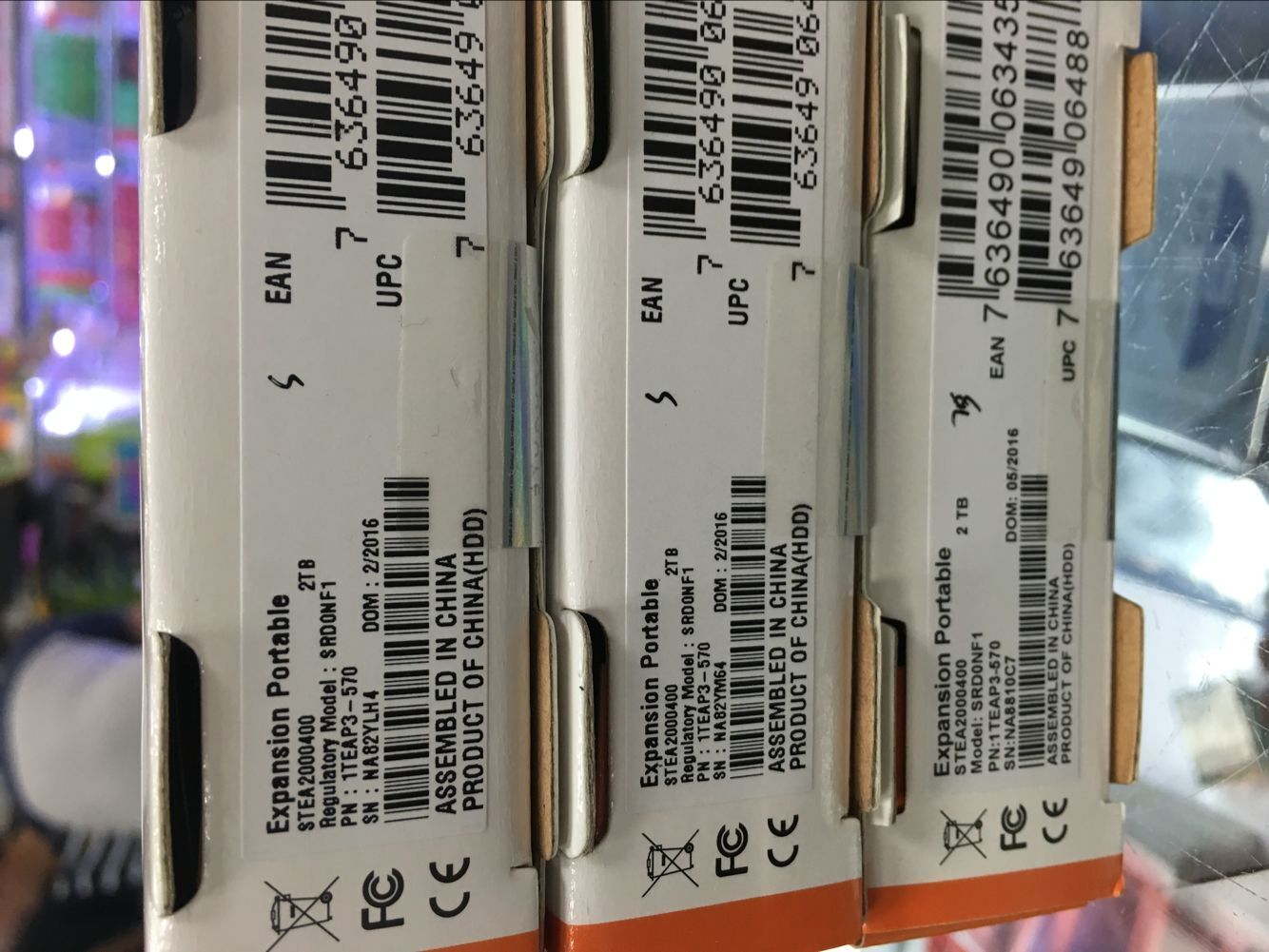 Seagate mobile festplatte Seagate - 2t USB3.0STEA2000400 mobile festplatte