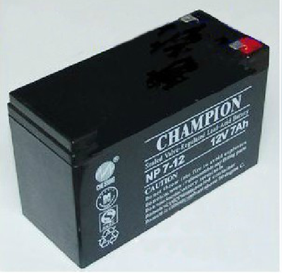 Champion 12V7AH battery fire host NP712 built-in battery ups/eps special original 12zp-5b