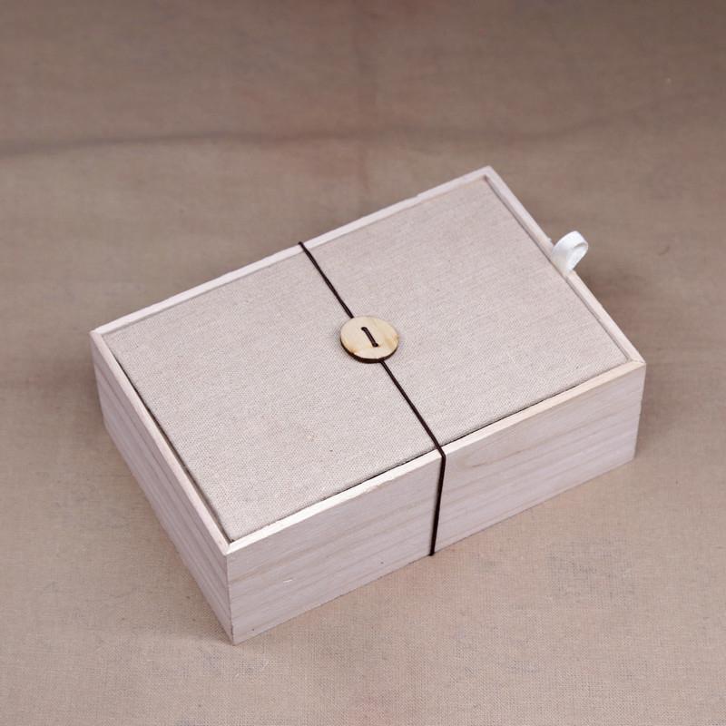 印章包裝原木木盒